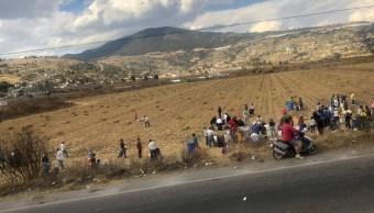 Acambay: Rompen ductos para conseguir gasolina en Edomex