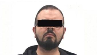 Rodrigo Vallejo fue detenido por delincuencia organizada