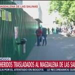 Situación de heridos trasladados al Magdalena de las Salinas