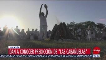 Sacerdotes mayas dan conocer el resultado de 'las cabañuelas'