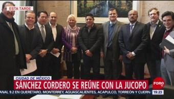 Olga Sánchez Cordero Se Reúne Jucopo