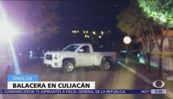 Se desata una balacera en Culiacán, Sinaloa