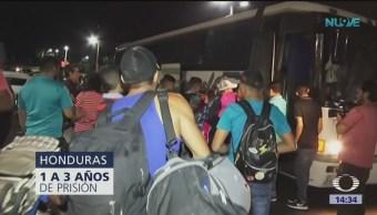 Se forma nueva caravana de migrantes en Honduras