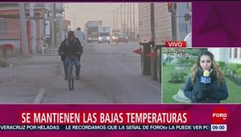 Foto, 26 enero 2019, Se mantienen las bajas temperaturas en Sonora
