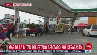 Se profundiza desabasto de combustible en varios estados