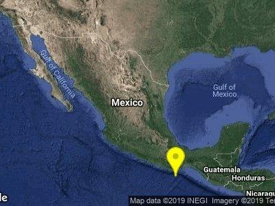 Se registra dos sismos de magnitud 4.7 y 4.8 en Oaxaca