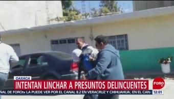 Se registra intento de linchamiento en Oaxaca