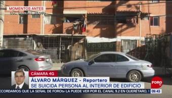 Se registra suicidio en colonia Granjas México, alcaldía Iztacalco de CDMX