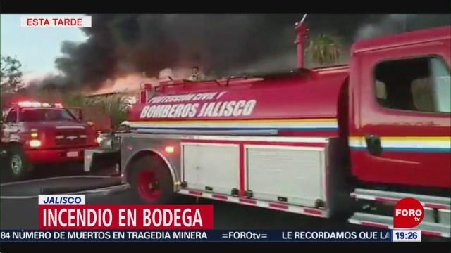 Foto: Incendio Bodega Jalisco El Salto 29 de Enero 209