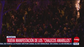Foto: Se registran protestas de 'chalecos amarillos' en Francia, 26 enero 2019,
