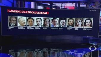 Senado Visto Bueno Diez Candidatos Fiscal General