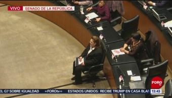 Senadores votarán para nombrar al primer fiscal general de la República