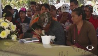 Sepultan Víctimas Explosión De Tlahuelilpan Hidalgo