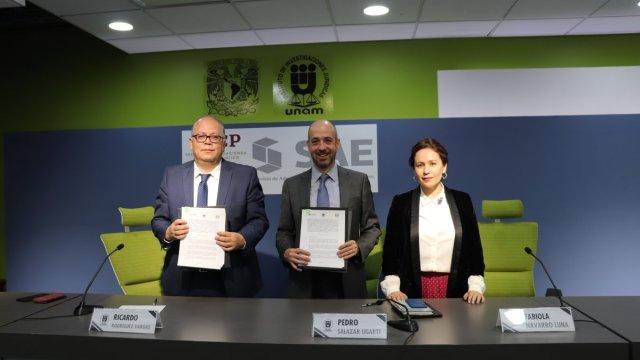 SHCP firma primer convenio con UNAM para prevenir corrupción