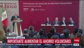 SHCP y Banxico presentan acciones para impulsar el sector financiero