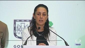 Sheinbaum anuncia que reconstrucción de escuelas termina este año