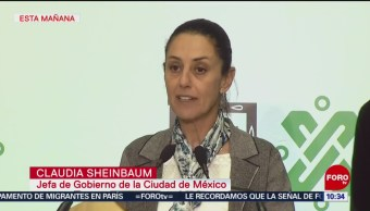 Sheinbaum presume alto índice de desarme durante enero