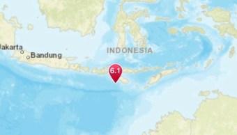 Sismo de magnitud 6.2 sacude Indonesia enero 2019