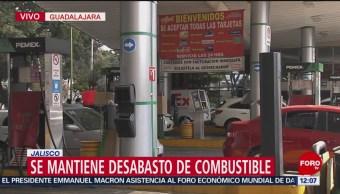 Solo 40% de gasolineras de Zona Metropolitana de Guadalajara tienen combustibles
