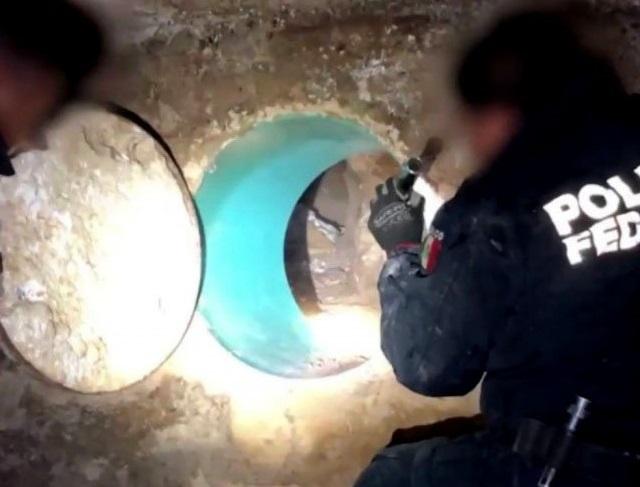 Descubre la Policía Federal narcotúnel en Nogales, Sonora