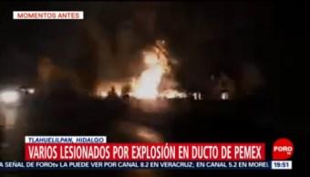 Toma Clandestina Combustible Explota Tlahuelilpan Hidalgo
