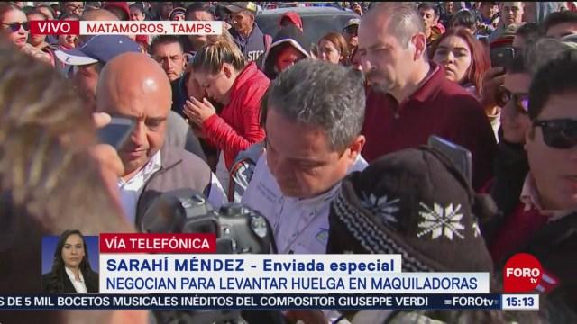 Trabajadores revisarán propuesta de autoridades para levantar la huelga
