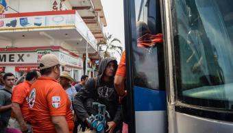 Nueva Caravana Migrante ingresan Tapanatepec, Oaxaca