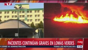Tres pacientes graves en hospital de Lomas Verdes