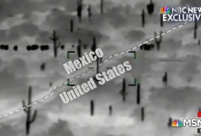 Trump difunde video para defender muro en frontera