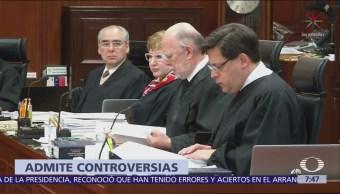 SCJN admite controversias de Cofece y Banxico contra recorte salarial