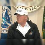 Trump visita la frontera con México, en McAllen, Texas