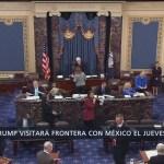 Trump visitará la frontera con México este jueves