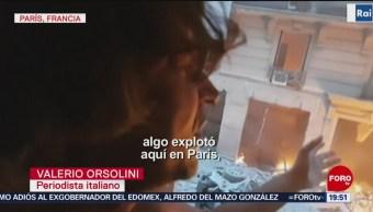Un periodista fue testigo de explosión en panadería en Francia