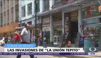 Unión Tepito sigue invadiendo predios deshabitados en CDMX