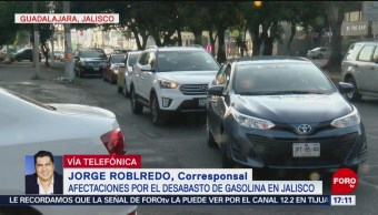 Guadalajara Espera Abasto De Gasolina Combustible