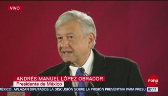 Vamos a normalizar la situación del combustible en México, dice AMLO