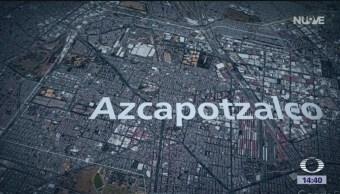 Foto: Vecinos de Azcapotzalco alarmados por olor a gasolina