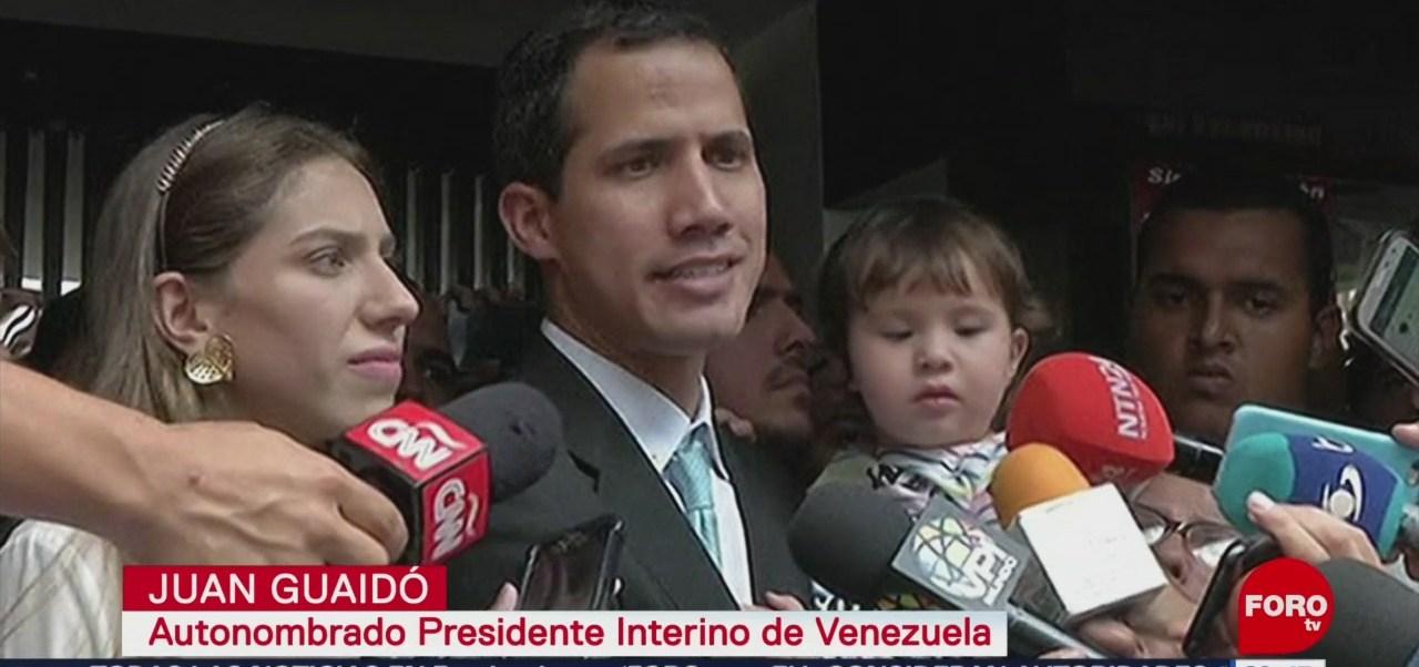 Foto: Venezuela Juan Guaidó Denuncia Intimidación 31 de Enero 2019