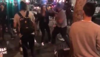 Foto: Un hombre ataca a dos mujeres en Los Angeles el 26 de enero del 2019