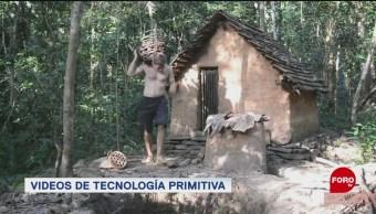 Videos De Tecnología Primitiva, Videos, Tecnología Primitiva, Youtuber, Australiano, Construir Cabañas, Herramientas,