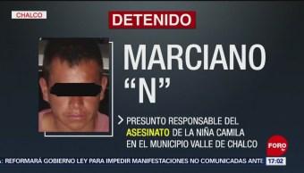 Vinculan a proceso al presunto homicida de Camila