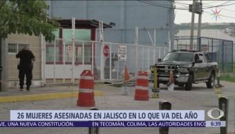 26 mujeres han sido asesinadas en Jalisco durante 2019
