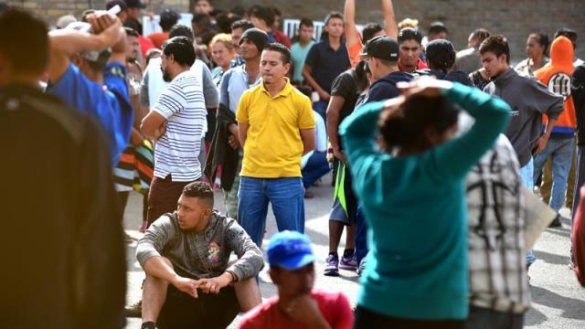 Foto: De los 1.672 migrantes que arribaron a Piedras Negras, Coahuila, desde el 4 de febrero, ya solo están 787, el 17 de febrero de 2019 (EFE)