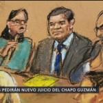 Foto: Abogados de 'El Chapo' pedirán que se repita el juicio