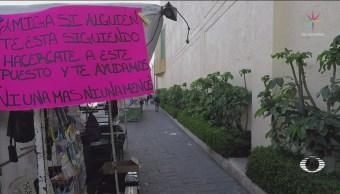 Foto: Ambulantes Balderas Apoyan Mujeres Peligro 15 de Febrero 2019