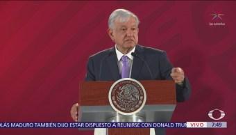 AMLO afirma que presidente de CRE tiene conflicto de intereses