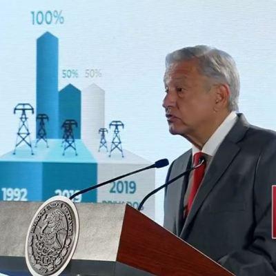 AMLO anuncia plan para fortalecer a la CFE sin elevar costos