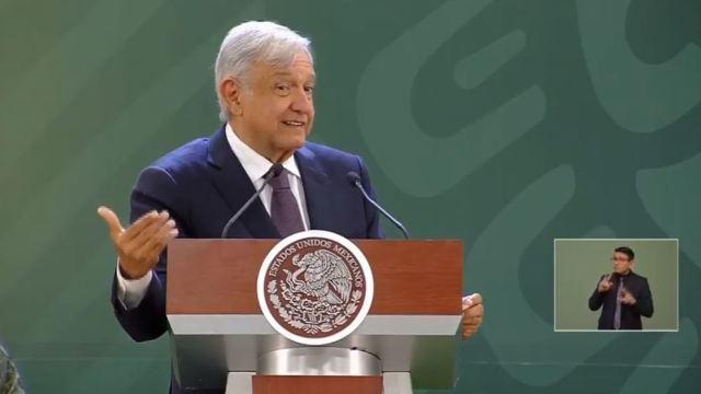 Foto: El presidente de México, Andrés Manuel López Obrador, ofrece su conferencia de prensa matutina, 20 febrero 2019