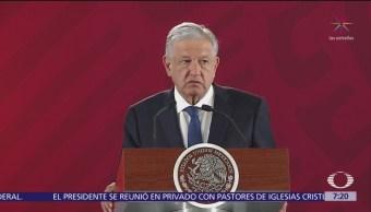 AMLO: Estamos satisfechos por aprobación de la Guardia Nacional en el Senado