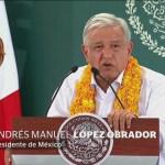 Foto: AMLO Garantiza Protección Ayude Ayotzinapa 7 Febrero 2019